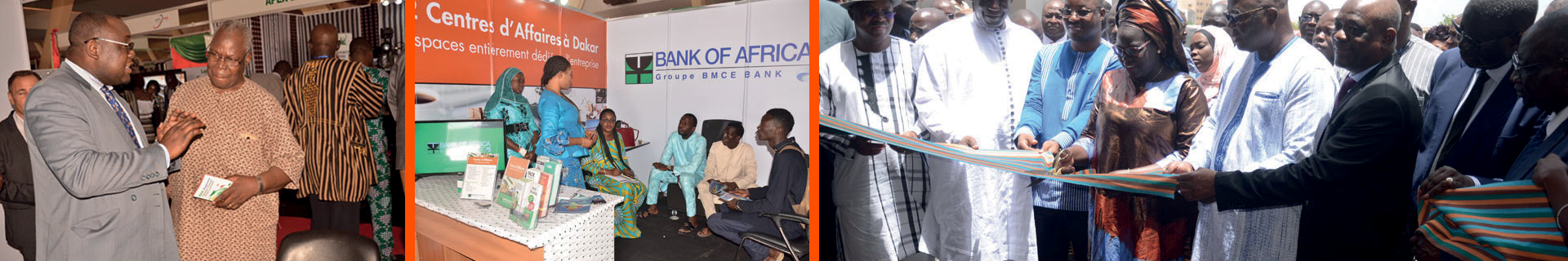 BOA-SÉNÉGAL, partenaire des journées de Promotion Economique et Commerciale du Burkina