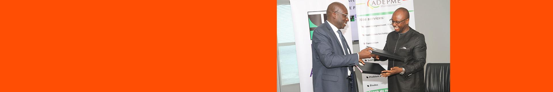 Partenariat entre BOA-SENEGAL et l'Agence pour le Développement et l'Encadrement des Petites et Moyennes Entreprises (ADEPME)