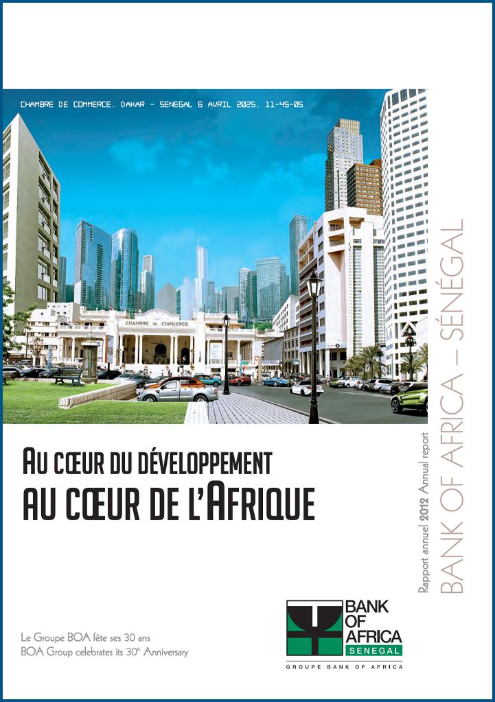 boa ra senagal 2012