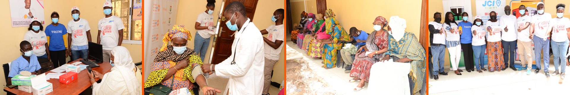 Opération de dépistage au Sénégal des cancers du col de l'utérus et du sein
